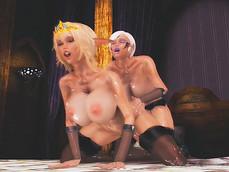 A Futanari Fantasy Sexual Unity Of Two