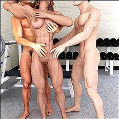 Crazy 3d, big tits, group, blowjob, dp hentai collection