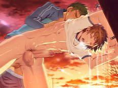 Saucy hard yaoi pics with handsome anime gay